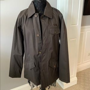 The North Face | Men's L Brown Button Down Jacket